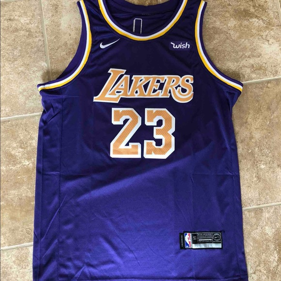 82653f9f751 Nike Shirts   Lebron James 2019 Lakers Nba Jersey   Poshmark
